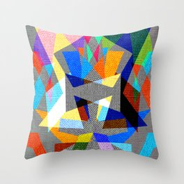 Deko - Art in colors Throw Pillow