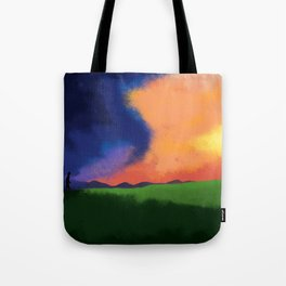 People Going to the Cross Tote Bag