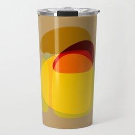 Orange, Yellow and Green Travel Mug