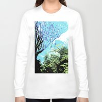 coral Long Sleeve T-shirts featuring Coral by Stephen Linhart