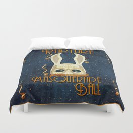 Rapture Masquerade Ball 1959 Duvet Cover