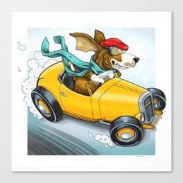 Go Dog Go Canvas Print