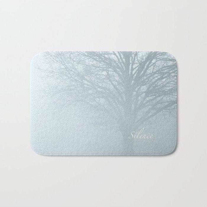 Tree / Winter Silence Bath Mat