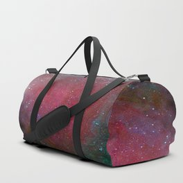 Fluid Abstract 31; Space Nebula Duffle Bag