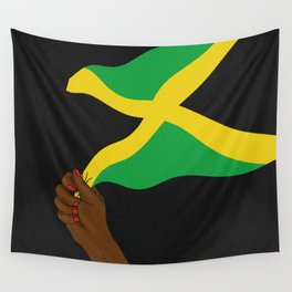 Jamaica Wave Wall Tapestry