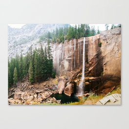 Vernal Fall Canvas Print