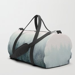 Between every two pines is a doorway to a new world Duffle Bag