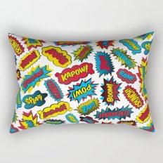 Super Words! Rectangular Pillow