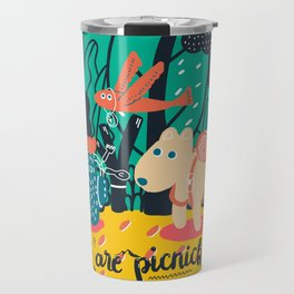 We are picnickers Travel Mug