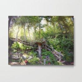 Jefferson City Montana - Secret Lives In The Trees Metal Print