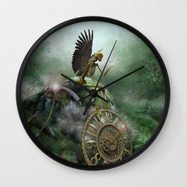 Even Death Rests Wall Clock