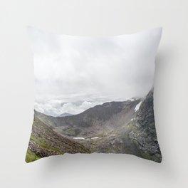 Ben Nevis Mountain Ridge Throw Pillow