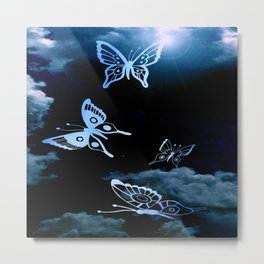 Coming To life Butterfly's Metal Print