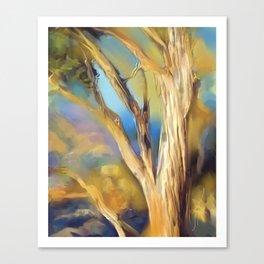 wacom textural study / tree Canvas Print