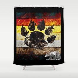 Bear Pride Shower Curtain