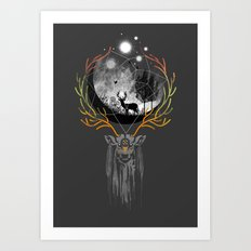 deer to dream Art Print