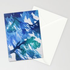 Morning Blossoms 2 - Blue Variation Stationery Cards
