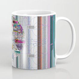 grey mandala 2 Coffee Mug