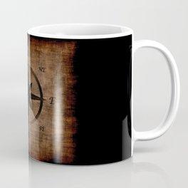 Nostalgic Old Compass Rose Coffee Mug