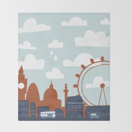 London Throw Blanket