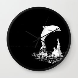 Nanantor and the Spirit Rider Wall Clock
