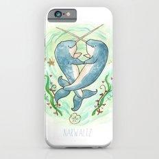Narwaltz - Narwhal Valentine iPhone 6s Slim Case