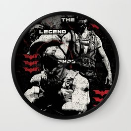 In Ashes Wall Clock