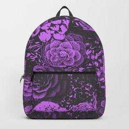 Moody Florals in Purple Backpack