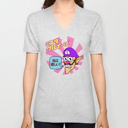 Mr. Waluigi Unisex V-Neck