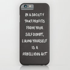 Liking Yourself (GREY) iPhone 6s Slim Case