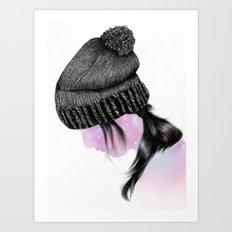 Fxxking Hipster II Art Print