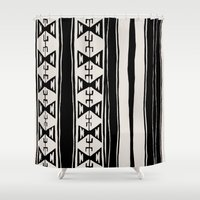 cleveland Shower Curtains featuring Cleveland 6 by Little Brave Heart Shop