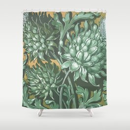 Royal Thistle Shower Curtain
