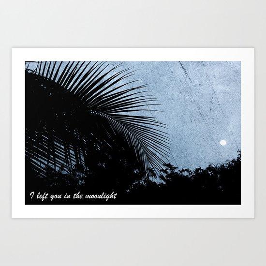 Moonlit  Art Print