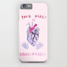 Your heart is unbreakable  iPhone 6 Slim Case