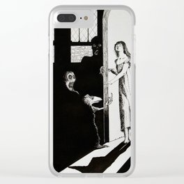Somnambulism Clear iPhone Case