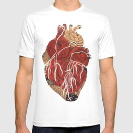 Heart of Peonies T-shirt