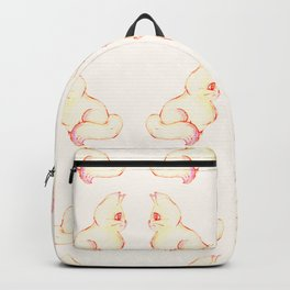 Grapefruit Cat - Color Burn Backpack