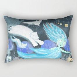 Spooky Lora Rectangular Pillow