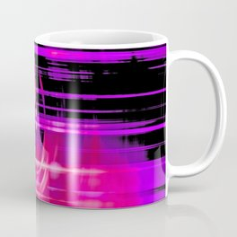 Purple music speakers Coffee Mug