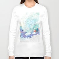 snail Long Sleeve T-shirts featuring Snail by ARTION