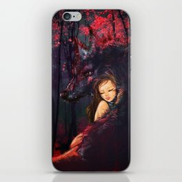 Bury our heads in each other iPhone Skin