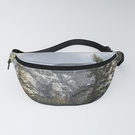 Mountains Through The Forest - Nature Photography Fanny Pack