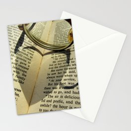 Love to read a book Stationery Cards