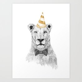 Get the party started (color) Art Print