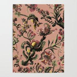Exotic Brazilian Flowers Poster