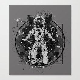 the Vitruvian astronaut Canvas Print