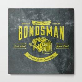 Beast Coast Bondsman (GOLD) Metal Print