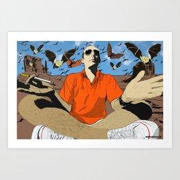 H.T Art Print