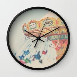 carnival swing I ... Wall Clock
